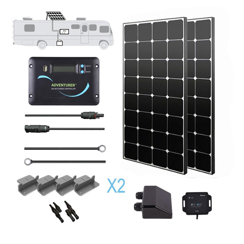 Renogy 200 Watt 12 Volt Eclipse Solar RV Kit