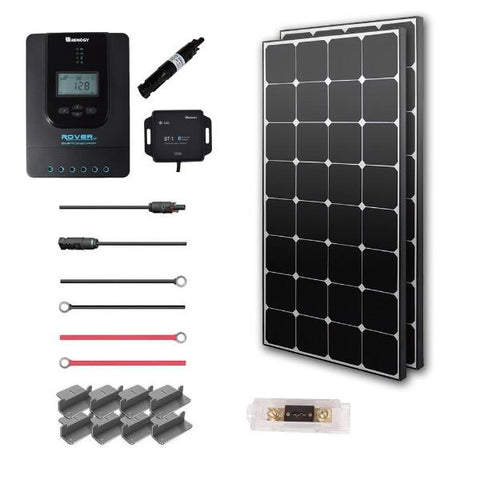 Image of Renogy New 200 Watt 12 Volt Solar Premium Kit (Eclipse)
