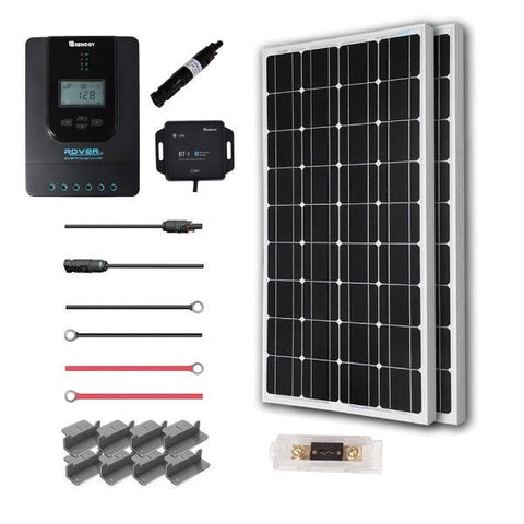 Image of Renogy New 200 Watt 12 Volt Solar Premium Kit (Mono)