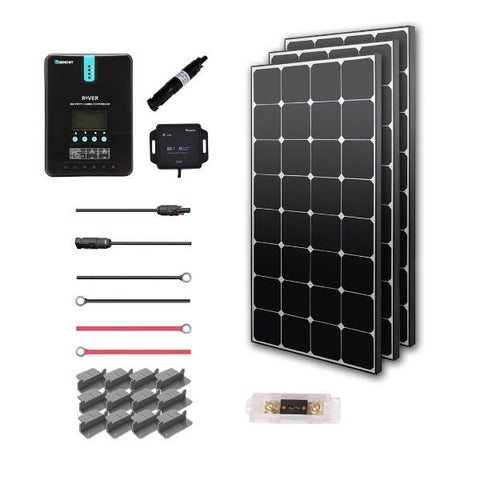 Renogy New 300 Watt 12 Volt Solar Premium Kit (Eclipse)