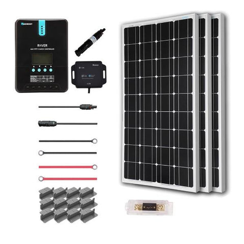 Image of Renogy New 300 Watt 12 Volt Solar Premium Kit (Mono)