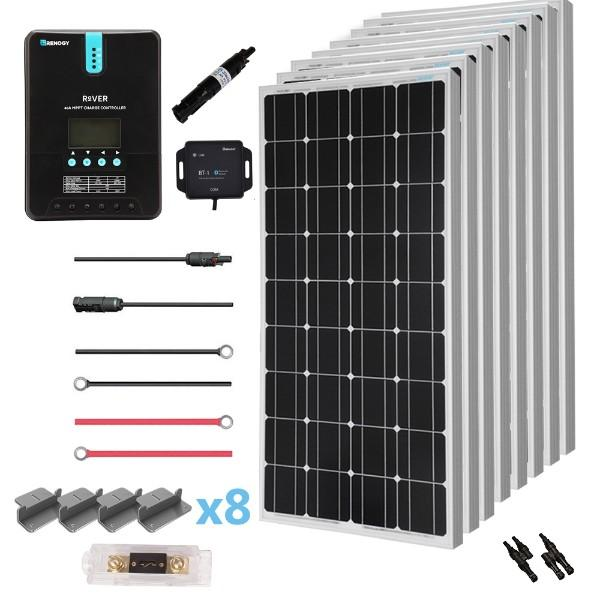 Renogy New 800 Watt 24 Volt Solar Premium Kit