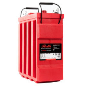 Rolls 546 Amp Hours (@ C/20) 4 Volt Flooded Lead Acid Battery 4-CS-17PS