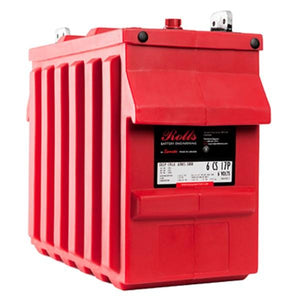Rolls 546 Amp Hours (@ C/20) 6 Volt Flooded Lead Acid Battery 6-CS-17PS