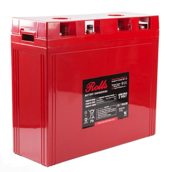 Rolls 880 Amp Hours (@ C/20) 2 Volt Sealed AGM Battery S2-945