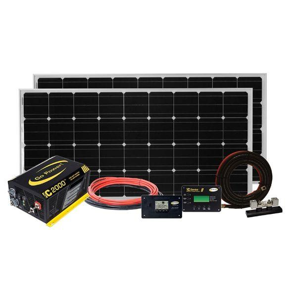 Go Power 380W Solar Elite Charging System