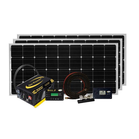 Go Power 510W Solar Extreme Charging System