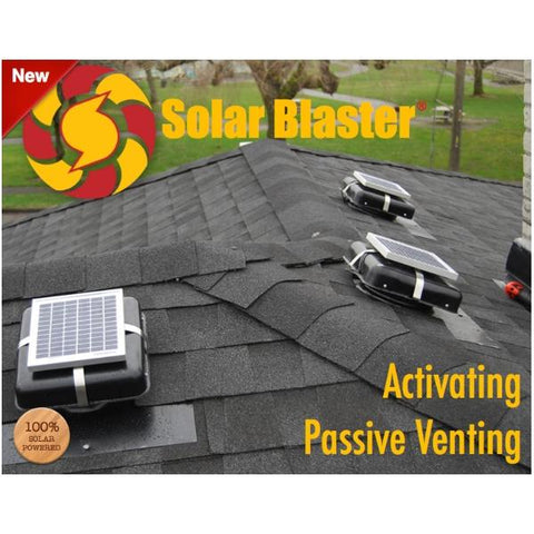 Solar Blaster ROOFblaster Attic Fan