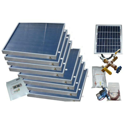 Heliatos Standard Solar Water Heater Kit