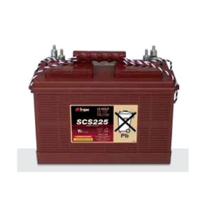 Trojan 130 Amp Hours (@ C/20) 12 Volt Marine/RV Line Flooded Lead Acid Battery SCS225