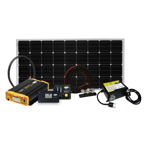 Go Power 190W Weekender ISW Solar Charging System