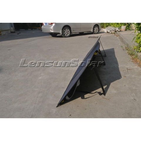 Image of Lensun 160W 12V Ultralight Folding Solar Panel - Black Back Sheet