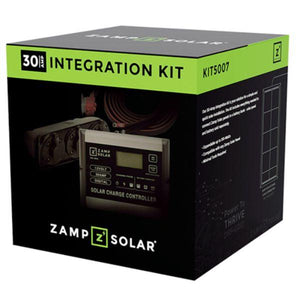 Zamp Solar 30 Amp Obsidian Integration Kit