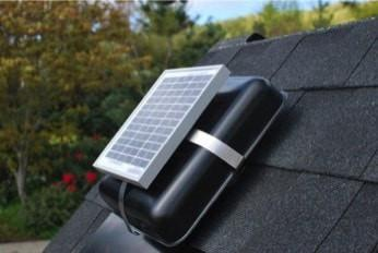 Image of Solar Blaster ROOFblaster Attic Fan