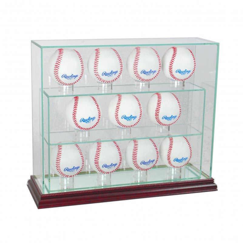 11 Baseball Upright Display Case