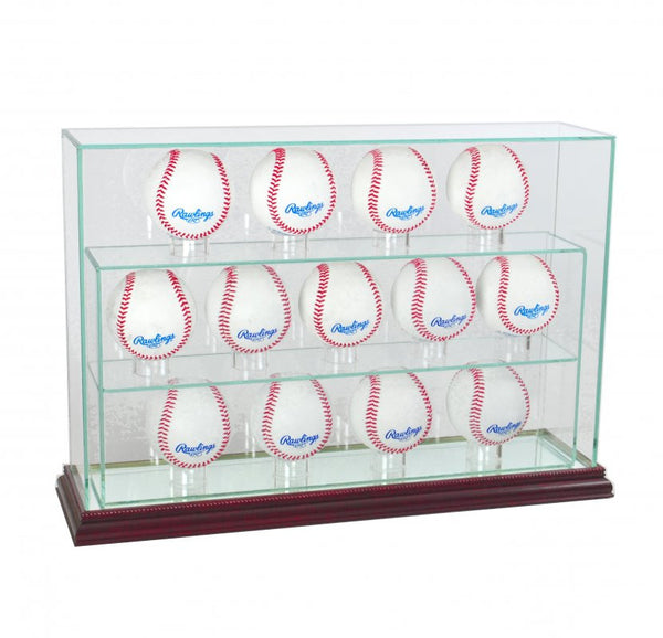 13 Baseball Upright Display Case