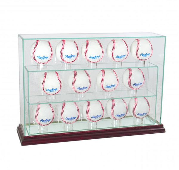 14 Baseball Upright Display Case