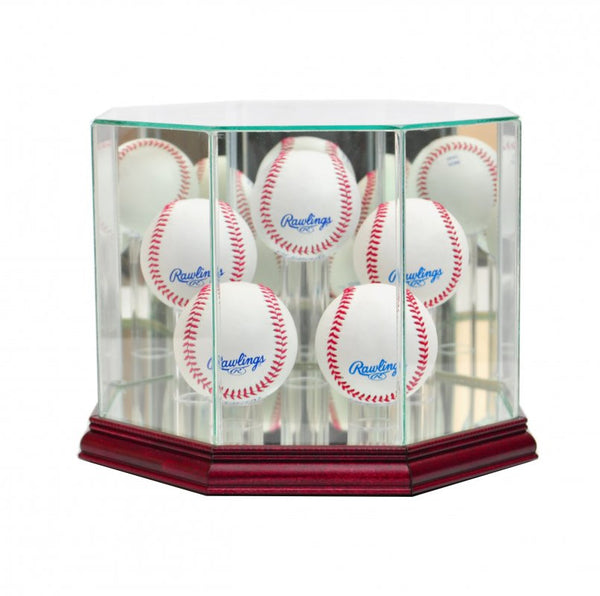 Octagon 5 Baseball Display Case