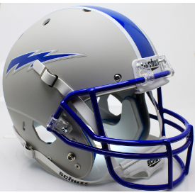 Air Force Falcons Matte Gray Schutt XP Replica Full Size Football Helmet