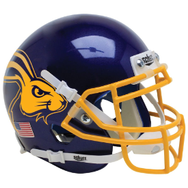 South Dakota State Jackrabbits Jackrabbit Schutt XP Authentic Mini Football Helmet