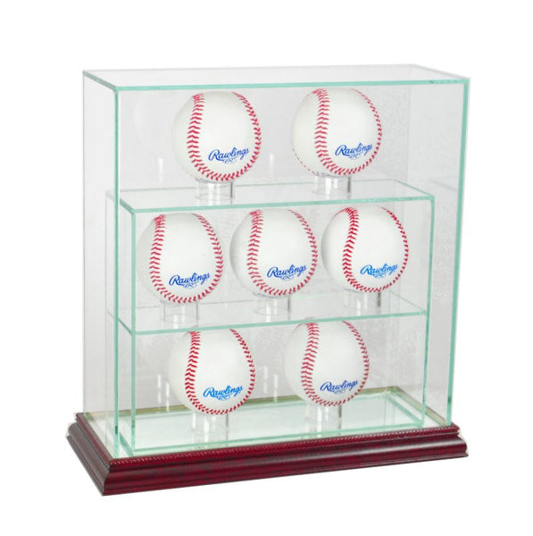 7 Upright Baseball Display Case