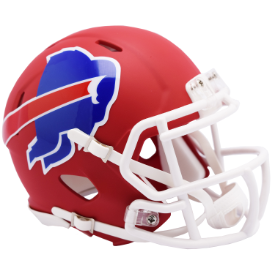 Buffalo Bills Riddell Speed AMP Mini Football Helmet