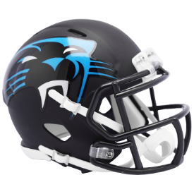 Carolina Panthers Riddell Speed AMP Mini Football Helmet
