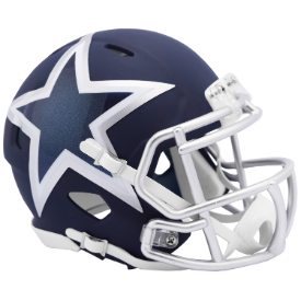 Dallas Cowboys Riddell Speed AMP Mini Football Helmet