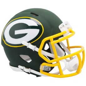 Green Bay Packers Riddell Speed AMP Mini Football Helmet