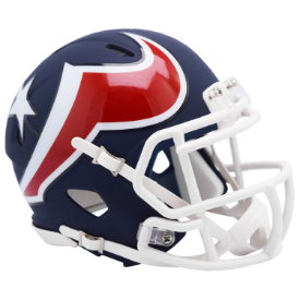 Houston Texans Riddell Speed AMP Mini Football Helmet