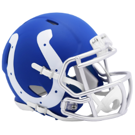 Indianapolis Colts Riddell Speed AMP Mini Football Helmet