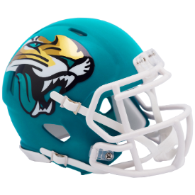 Jacksonville Jaguars Riddell Speed AMP Mini Football Helmet