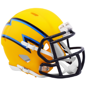 Los Angeles Chargers Riddell Speed AMP Mini Football Helmet
