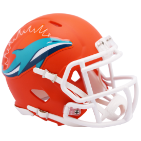 Miami Dolphins Riddell Speed AMP Mini Football Helmet