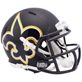 New Orleans Saints Riddell Speed AMP Mini Football Helmet