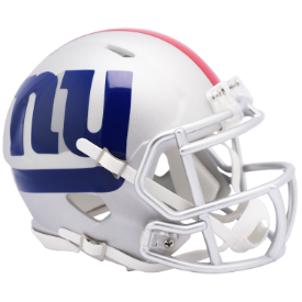 New York Giants Riddell Speed AMP Mini Football Helmet