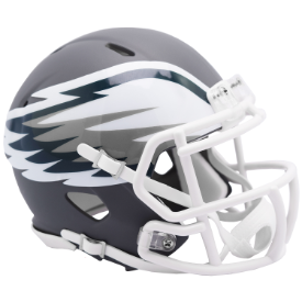 Philadelphia Eagles Riddell Speed AMP Mini Football Helmet