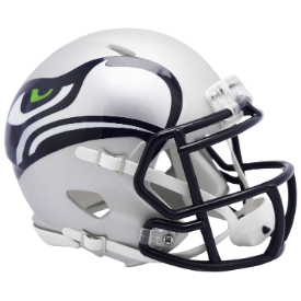 Seattle Seahawks Riddell Speed AMP Mini Football Helmet