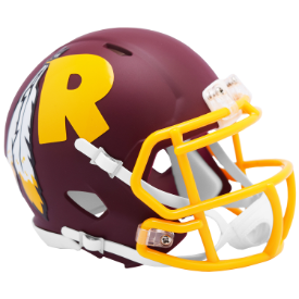 Washington Redskins Riddell Speed AMP Mini Football Helmet