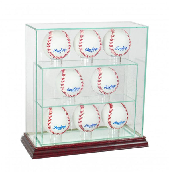8 Upright Glass Display Case