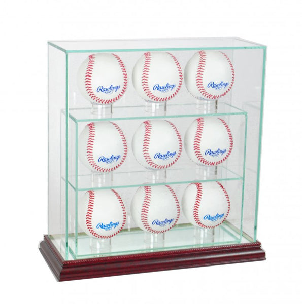9 Upright Baseball Display Case