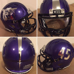 Custom Riddell Speed Authentic Mini Football Helmets