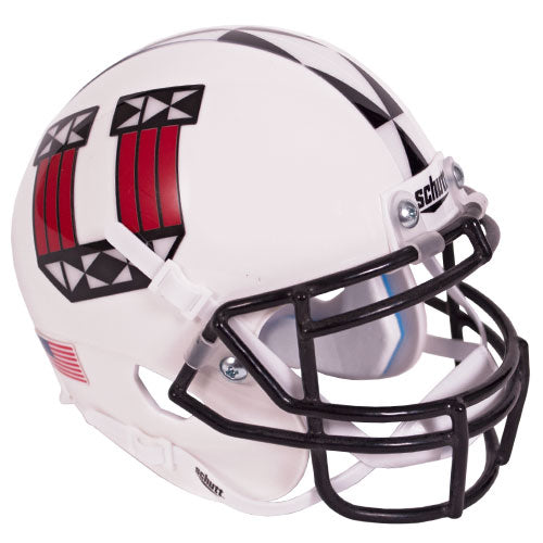 Utah Utes 2017 Ute Tribute Schutt XP Authentic Mini Football Helmet