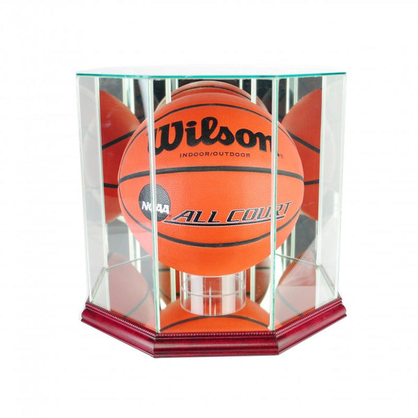 Octagon Basketball Display Case