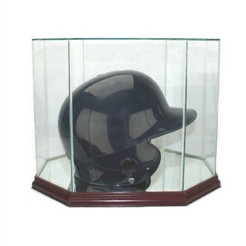 Octagon Batting Helmet Display Case
