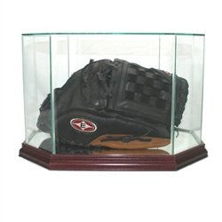 Octagon Baseball Glove Display Case