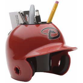 Arizona Diamondbacks MLB Schutt Mini Baseball Desk Caddy