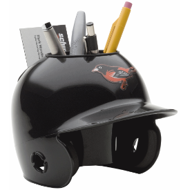 Baltimore Orioles MLB Schutt Mini Baseball Desk Caddy