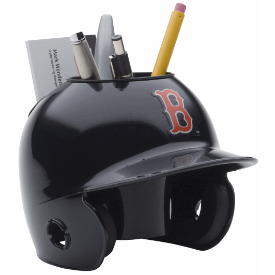 Boston Red Sox MLB Schutt Mini Baseball Desk Caddy