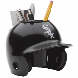 Chicago White Sox MLB Schutt Mini Baseball Desk Caddy